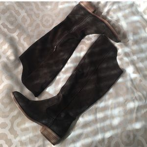 Elodie Suede Boots size 8